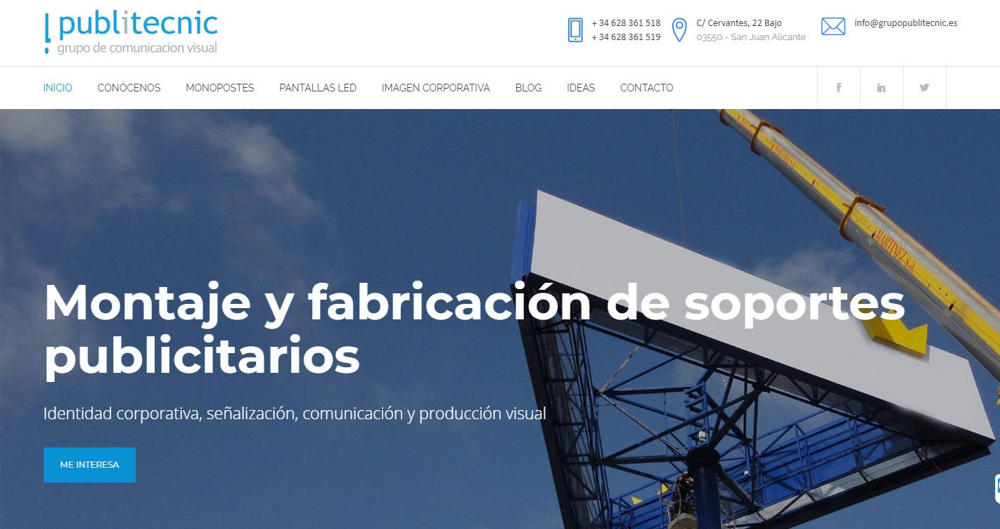 nueva web publitecnic