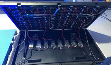 Fabricanción e instalacion de pantallas led