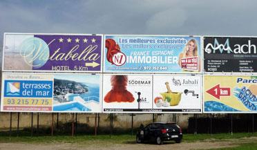Fabricantes de vallas publicitarias