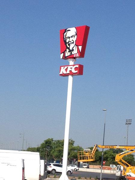Monoposte KFC