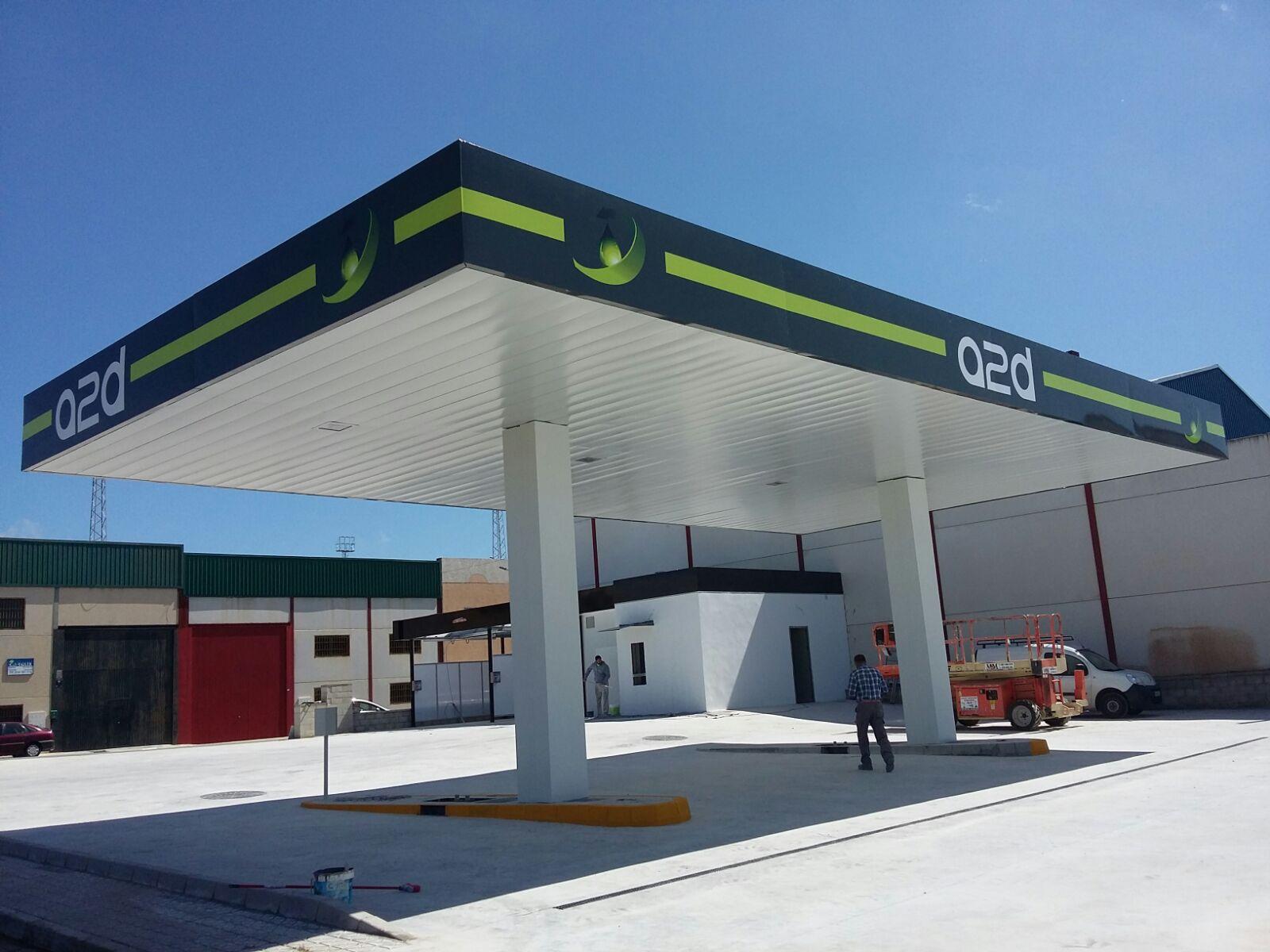 imagen corporativa gasolinera