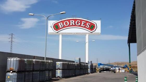 Rotulacion de biposte Borges