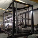 Fabricacion cabezal monoposte