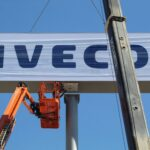 Instalacion monoposte Iveco