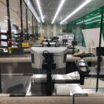Mamparas anticontagio supermercados