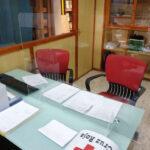 mampara proteccion oficina