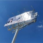 Monoposte Publicitario Samsung Cabezal
